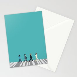 The tiny Abbey Road Stationery Cards