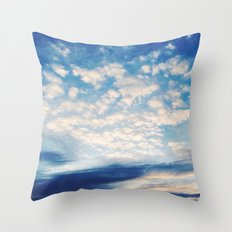 Sound of Clouds Throw Pillow