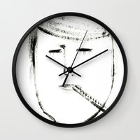 mario Wall Clocks featuring MARIO by Michela Buttignol