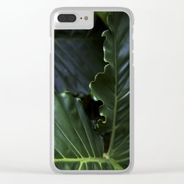 Edges Clear iPhone Case