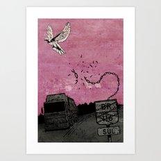 Ascend (Meninadanca Charity Print) Art Print
