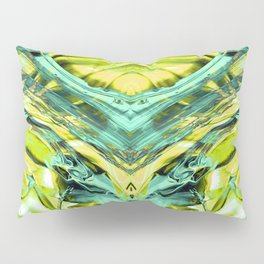 ABSTRACT COLORFUL PAINTING III Pillow Sham
