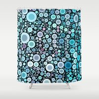 life aquatic Shower Curtains featuring aquatic by Sylvia Cook Photography