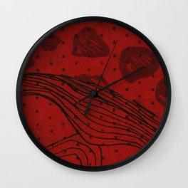 Coronary Contemporary 1 Wall Clock
