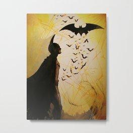 Phoenix In the Shadows Metal Print