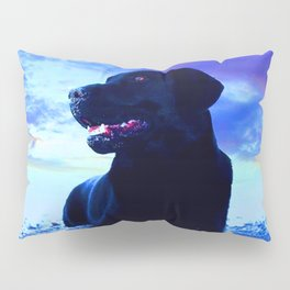 Ziggy Black Labrador Pillow Sham
