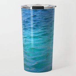 light blue Travel Mug
