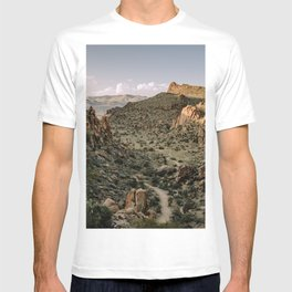 Balanced Rock Valley View in Big Bend - Landscape Photography T-shirt