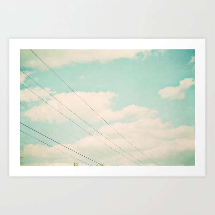 April sky Art Print