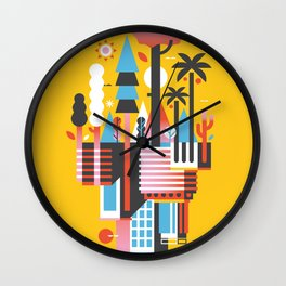 Natural Recall · Support Green Wall Clock