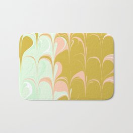 Abstract in Ice Cream Colors Bath Mat
