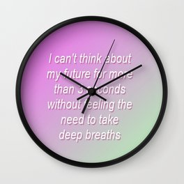Gradient 2 Wall Clock