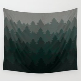 Pine landscape Wall Tapestry