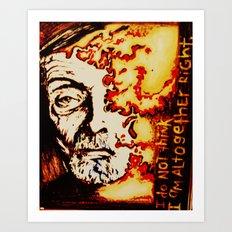 Albert Fish Art Print