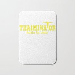 Holidays in Thailand Thaiminator Bath Mat
