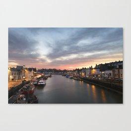 Harbour Sunrise Canvas Print