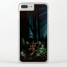 Untitled no. 1 Clear iPhone Case