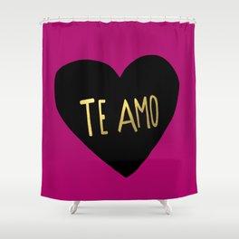 Te Amo II Shower Curtain