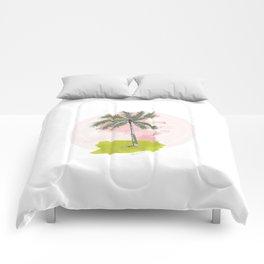Palm Tree Comforters