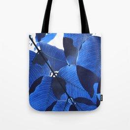 Close Up Leaves II Tote Bag