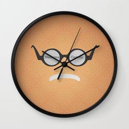 Mahatma Gandhi (Famous mustaches and beards) Wall Clock