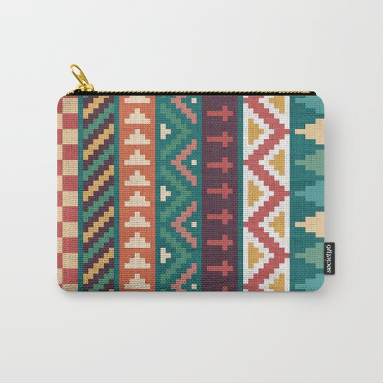 Southwestern Pattern Carry-All Pouch