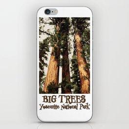 Big Trees Yosemite National Park Giant Sequoias iPhone Skin
