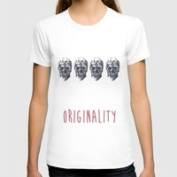 skulls T-shirts featuring Skulls  by SofRusso