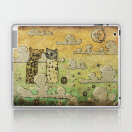 Two Cats Laptop & iPad Skin