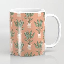 Bird of paradise in a basket pot Coffee Mug