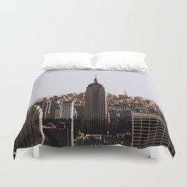 Rockefeller Center / New York City Duvet Cover