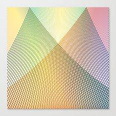 Gradient Strings Canvas Print