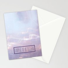 Simple Is Beautiful Stationery Cards