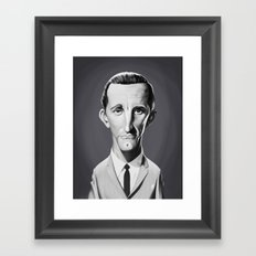 Kirk Douglas Framed Art Print
