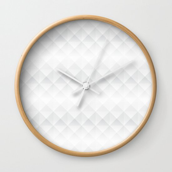 Hidden Perspective Wall Clock