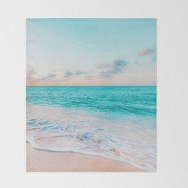 Ocean Bliss #society6 #society6artprint #buyart Throw Blanket