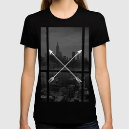 arrows in the city T-shirt