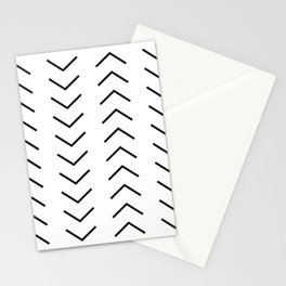 Abstract Arrows Stationery Cards