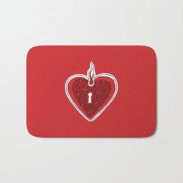 Key to my Heart Bath Mat