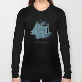 Birth of Pinocchio (black version) Long Sleeve T-shirt