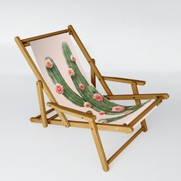 CACTUS AND ROSES Sling Chair
