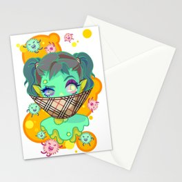 musty girl Stationery Cards