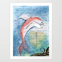 Fish of Far-Sightedness Art Print