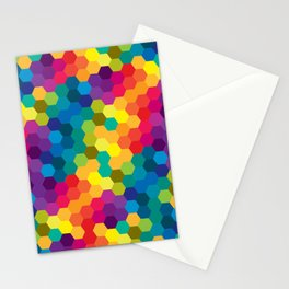 Hexagonized Stationery Cards