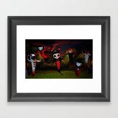 Ghost Night Framed Art Print