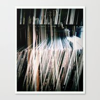 records Canvas Prints featuring Records On Records by Mission85
