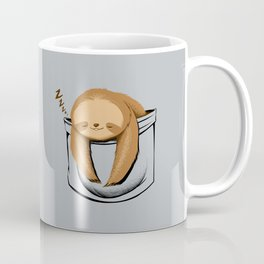 Sloth in a Pocket Coffee Mug