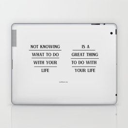 Notknowing Laptop & iPad Skin