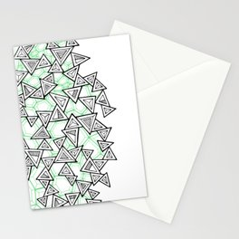 Triangles and Tessellation Stationery Cards