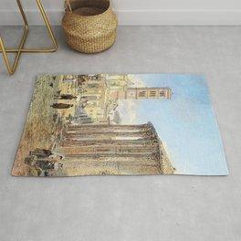 Franz Alt - Room, Forum Boarium - Digital Remastered Edition Rug